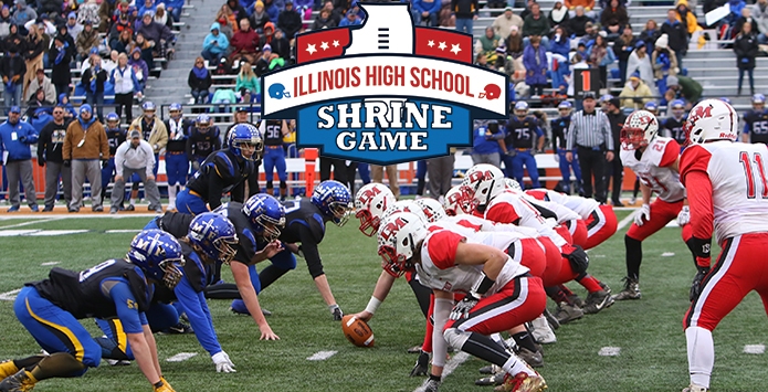 43rd Annual Illinois High School Football Shrine Game Set For June 17 at Illinois Wesleyan