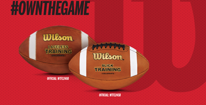 Wilson Introduces New Training Footballs Designed To Help Adjust To Weather & Tempo