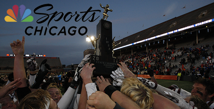 IHSA Football State Championship Games To Air On NBC Sports Chicago