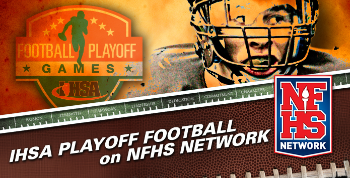 NFHS Network Football Playoff Broadcast Schedule - SEMIFINAL ROUND - NOVEMBER 18