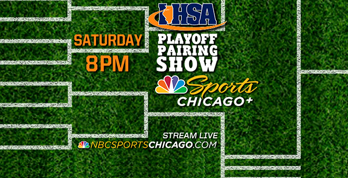 WATCH the IHSA Playoff Pairing Show - October 21 at 8:00 PM