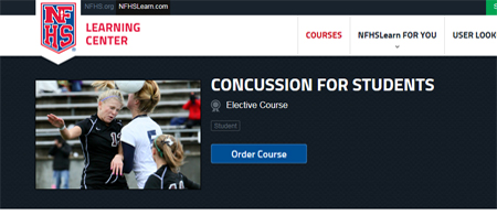 NFHS Offers New Concussion Course For Students