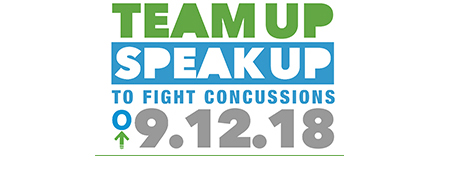 """IHSA Proud to Support """"Team Up Speak Up To Fight Concussions"""" on September 12"""