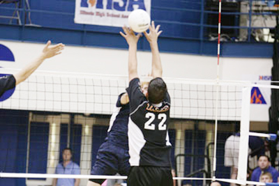IHSA Boys Volleyball