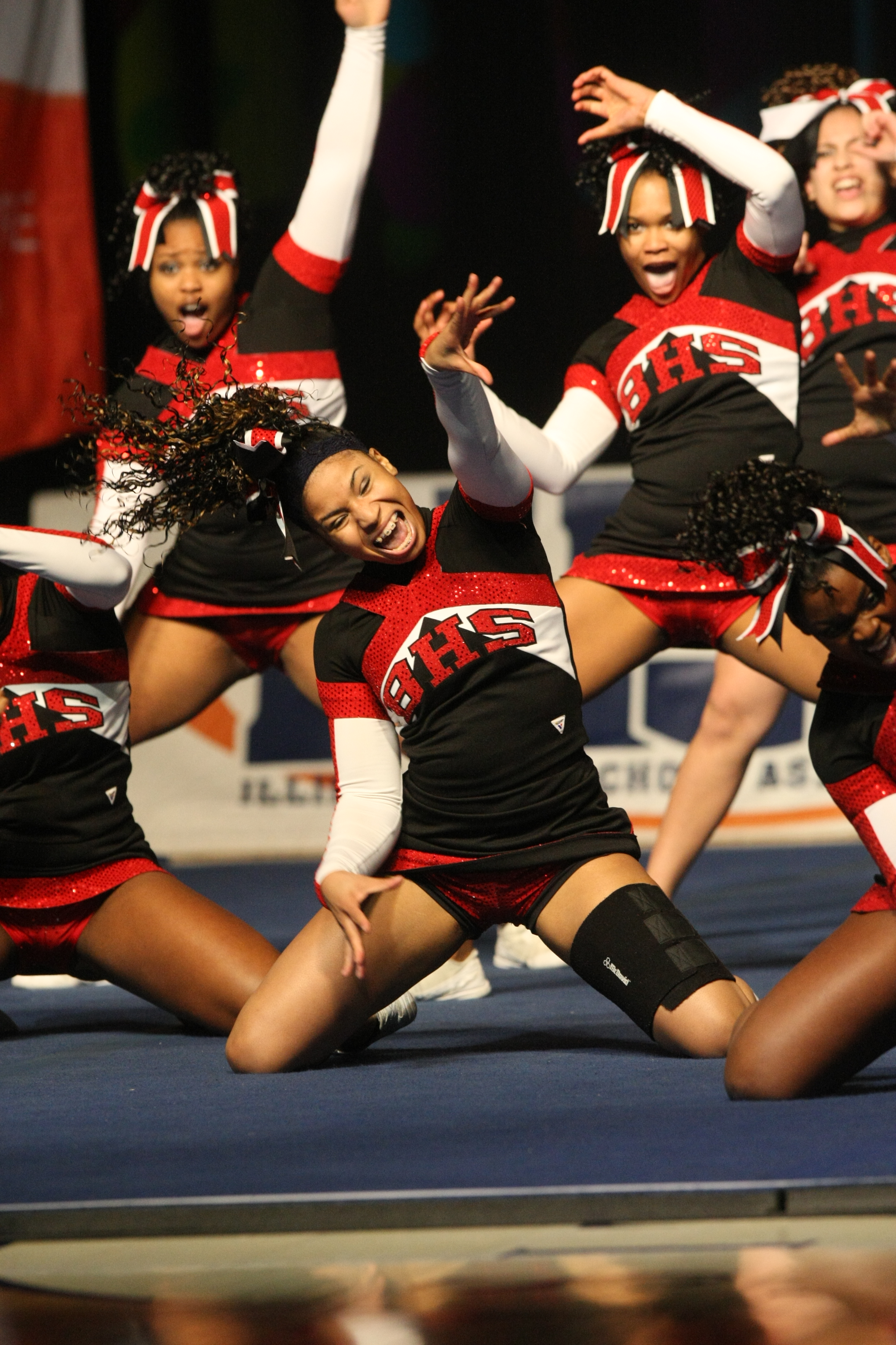 state central  competitive cheerleading  u0026gt  ihsa