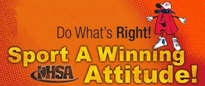 Do What's Right - Sport a Winning Attitude
