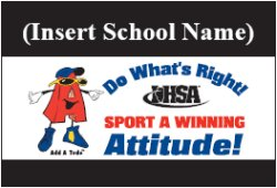 Sportsmanship Banner Sample