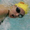 Girls Swimming and Diving