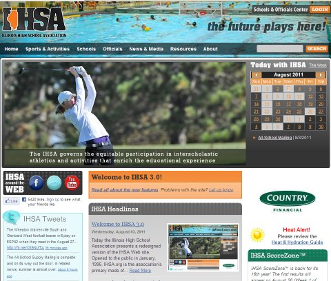 Welcome to IHSA.org 3.0