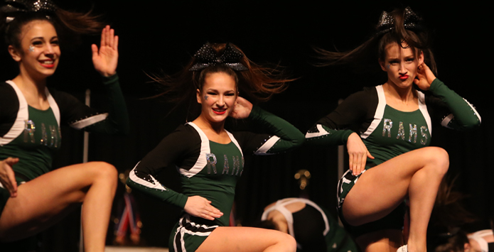 SAWA - Sportsmanship Shines At 2015 IHSA Cheerleading State Finals