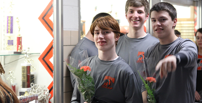 "SAWA - Altamont Basketball Provides Senior Night Moment That Will Be ""Remembered Forever"""