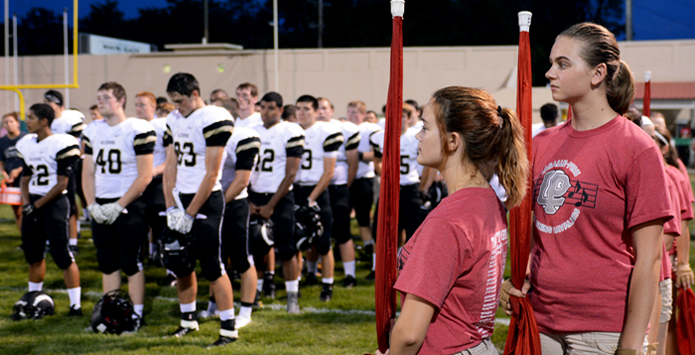"LaSalle-Peru Students Prove ""There are bigger things in life than winning a football game."""