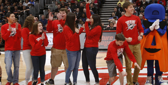 Ottawa Township Wins IHSA Class 3A/4A Student Section Showdown