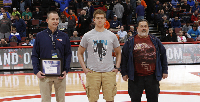 Woodstock North's Wolfgang Kemp Named Section Winner of NFHS Spirit of Sport Award