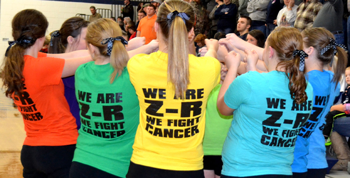 Zeigler-Royalton Tops Illinois High School Fundraising Efforts For Coaches vs. Cancer