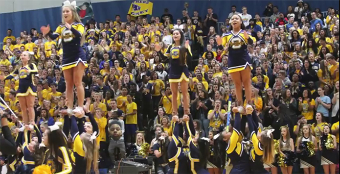 Class 3A/4A 2017 IHSA Student Section Showdown Entries