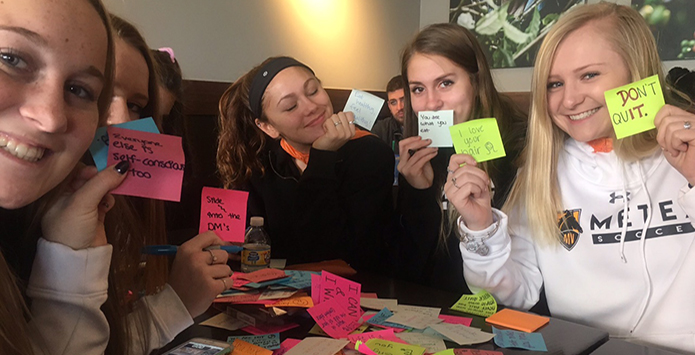 IHSA Girls Soccer Programs Get Into National Random Acts of Kindness Week