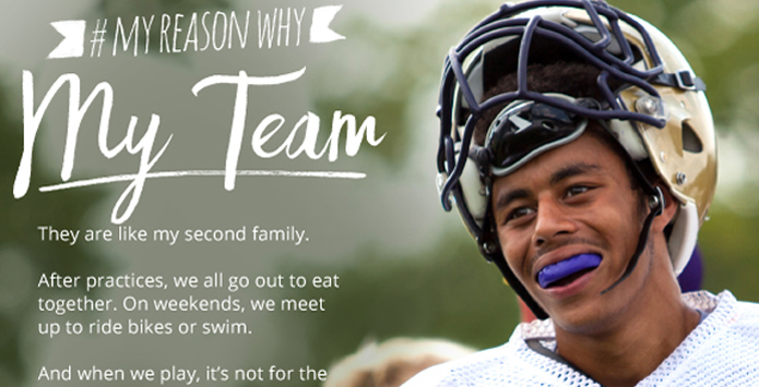 NFHS #MyReasonWhy Campaign Begins Second Year of Showcasing Value of High School Activity Programs