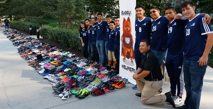 Chicagoland Students Donate Over 3,000 Pairs Of Shoes To Homeless