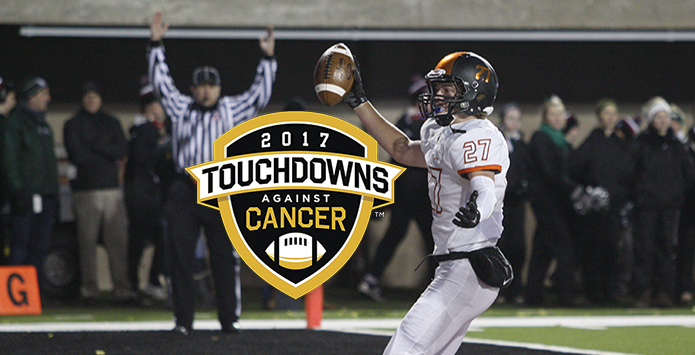 Illinois Coaches Association Joins Touchdowns Against Cancer