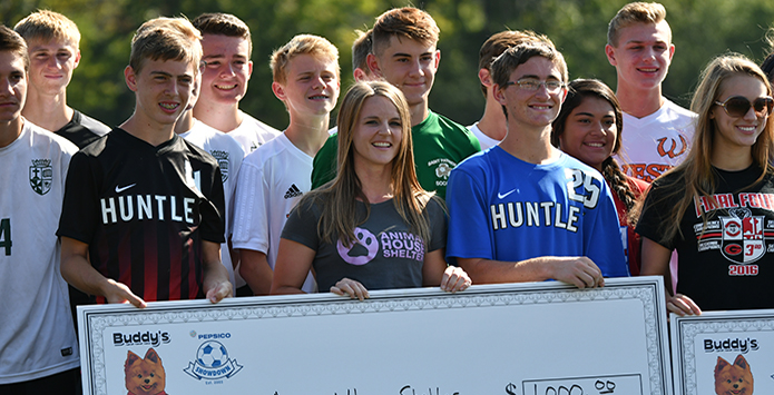 IHSA Soccer Players Honored For Community Service