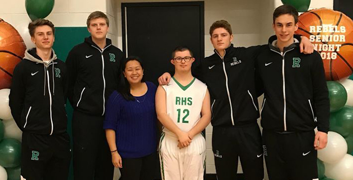 Memorable Senior Night Moments Emerge For Wethersfield & Ridgeview Boys Basketball Teams