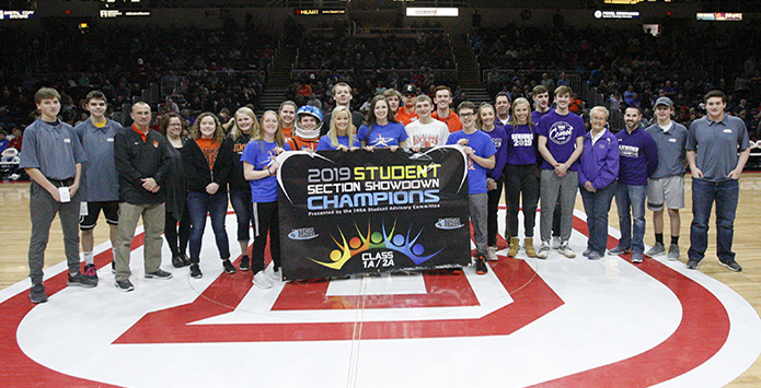 Okawville Wins Third Consecutive IHSA Class 1A/2A Student Section Showdown