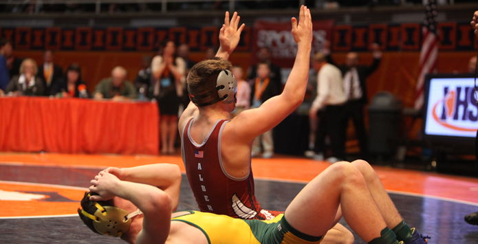 Undefeated Dakota Wrestler Josh Alber Defined By The Medal He Doesn't Have
