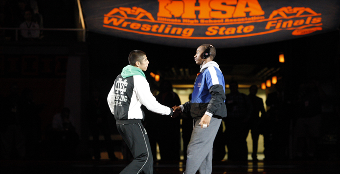 IHSA Interview: Executive Director Marty Hickman Talks Sportsmanship, Harrisburg-Seton, March Madness & More