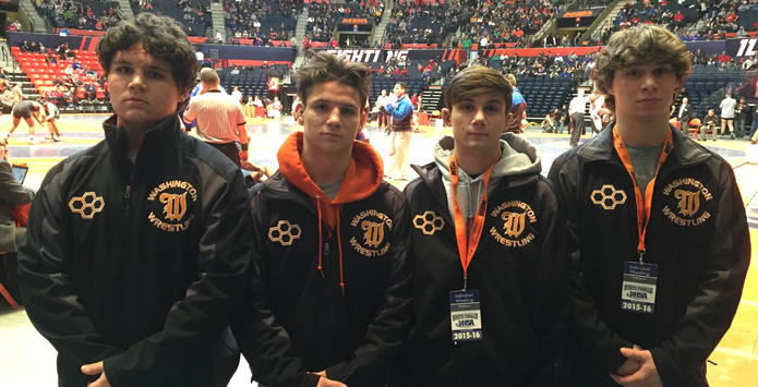 Washington's Punke Family Makes State Wrestling History As Four Brothers Qualify For State In Same Year