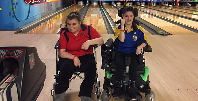 Sandburg's Sophia Jablonski & Triad's Chenoa Stokes Make IHSA Girls Bowling History