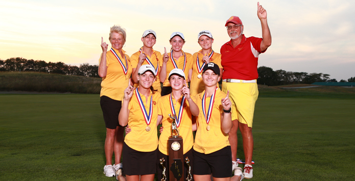 Charleston's Lauren Chappell Becomes First Girls Golfer To Win Three Individual State Championships