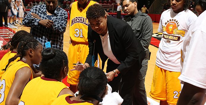 Legendary Marshall Girls Basketball Coach Dorothy Gaters Wins 1,000th Career Game