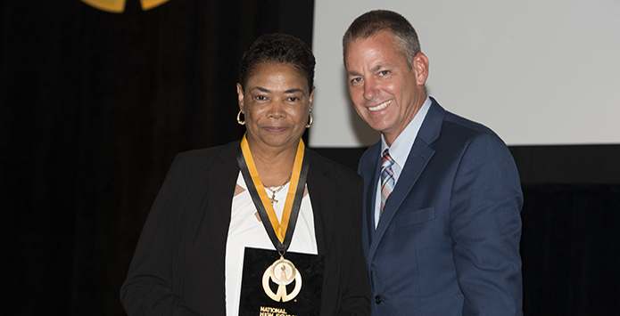 Dorothy Gaters Inducted Into NFHS National High School Hall of Fame