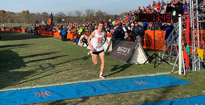 Hersey's Josh Methner Sets IHSA State XC Course Record