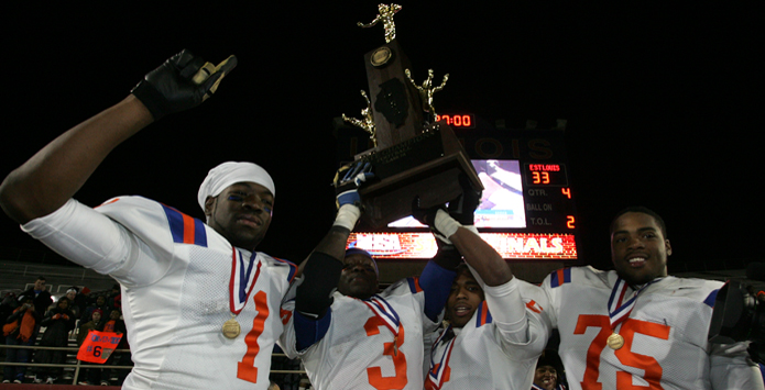 Top 200 Winningest IHSA Football Programs In State History
