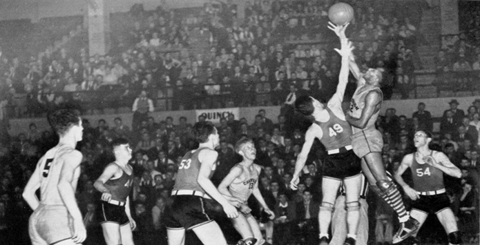 H.V. Porter's Personal Collection Unearths Video of 1932-36 Boys Basketball State Finals