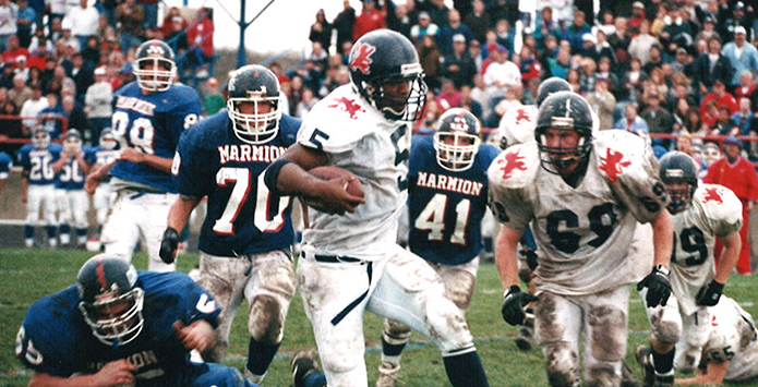 Before Football Stardom, IHSA Soccer Experience Made Lasting Impact On Jarrett Payton