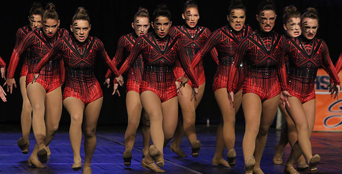 Behind the Routine at IHSA State Dance with St. Francis High School