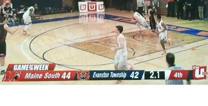Evanston's Blake Peters Delivers a Buzzerbeater For The Ages