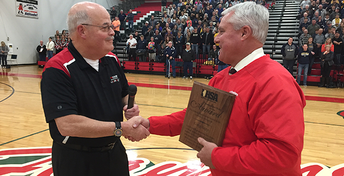 2017-18 IHSA Distinguished Media Service Award – Greg Sapp