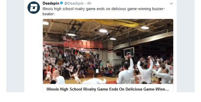 St. Charles East Tops Rival North On Amazing Buzzerbeater