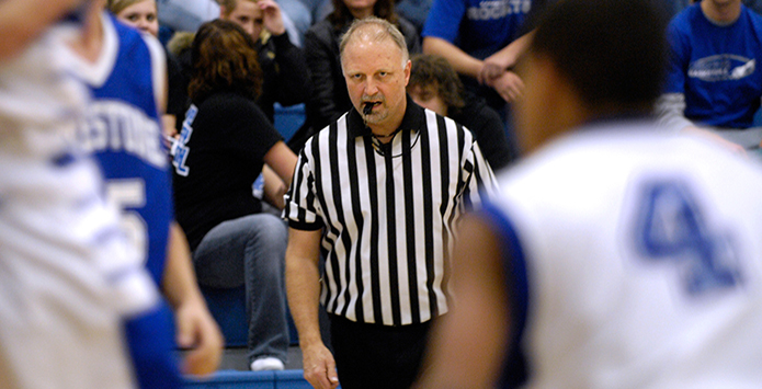 IHSA Official Kirk Wessler Selected for Induction in the United States Basketball Writers Association Hall of Fame
