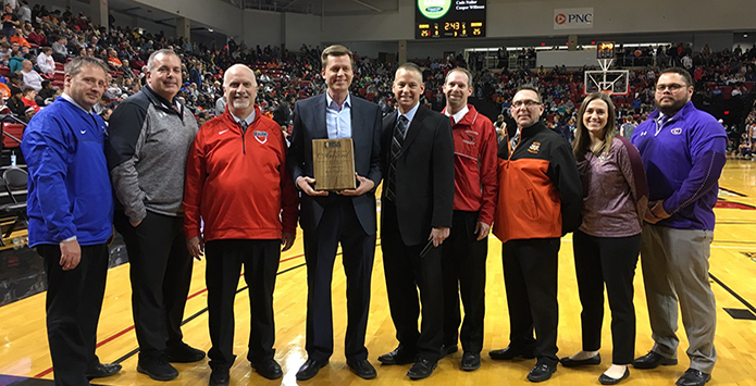 2018-19 IHSA Distinguished Media Service Award – Kurt Pegler