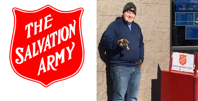 SIBOA Officials Association Members Volunteer Time For Salvation Army