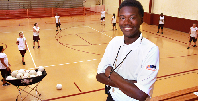 Rockford Auburn Student Orintho Farris Is Goal-Focused IHSA Official