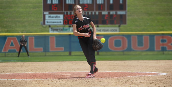 Calhoun Pitcher Grace Baalman Makes History With 39 Strikeouts In IHSA State Semifinal Win