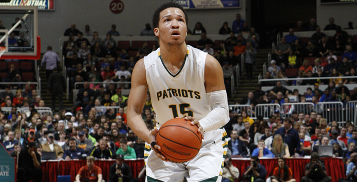 Stevenson Alum Jalen Brunson Joins Elite Company With IHSA & NCAA Titles
