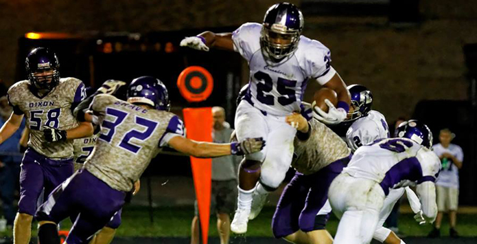 Rockford Lutheran's James Robinson Sets Career State Rushing Record