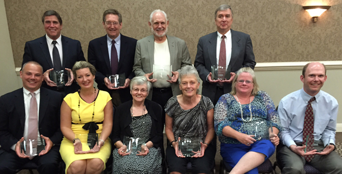 2015 IHSA Distinguished Service Award Winners